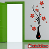Ultra Creative Plum Tree Flower Vase Acrylic 3D Wall Decor Stickers - Gear Just For You.com