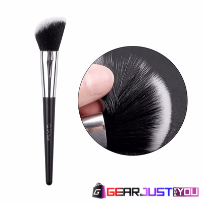 Stunning 10-pieces High-Quality Soft Course Bristles Makeup Brush Set - Gear Just For You.com