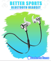 Superior Sound Sport Bluetooth Wireless Headphones Motivating Your Life - Gear Just For You.com