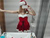 Super Fun Sexy Santa Dress + Hat High Quality Velvet Material - Christmas Outfit