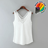 Most Comfortable Chiffon Sleeveless Office Blouse