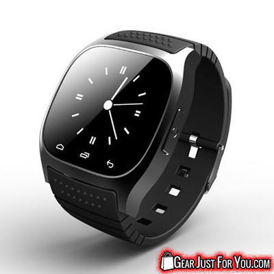 Universal Compatible Multi-functional Water Resistant Bluetooth Wireless Smart Wrist Watch - Gear Just For You.com
