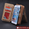 Image of Most Stunning Design iPhone Luxury Leather Multifunction DETACHABLE Wallet Case + Strap - Gear Just For You.com