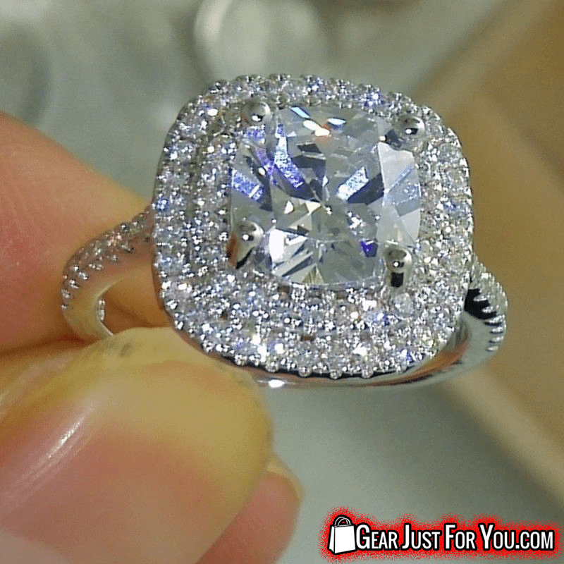 a ct worldjewels womens tw diamond ring