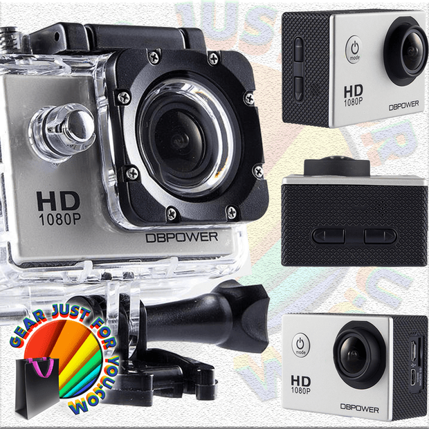 Best WATERPROOF Full HD 12MP 1080P Sports Cam Recorders - Gear Just For You.com