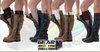 TRENDY Soft Comfortable ACRYLIC Knitted Double-Button Smart Boot Cuff - Gear Just For You.com