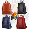 Most Durable Soft LEATHER Metal Hardware Fabric Lining Roomy Backpack - Gear Just For You.com