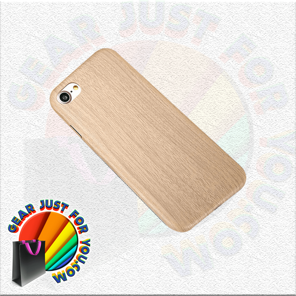 Ultra-Thin Anti-Collusion Dirt Resistant Natural Wood Pattern Case Cover For iPhone - Gear Just For You.com
