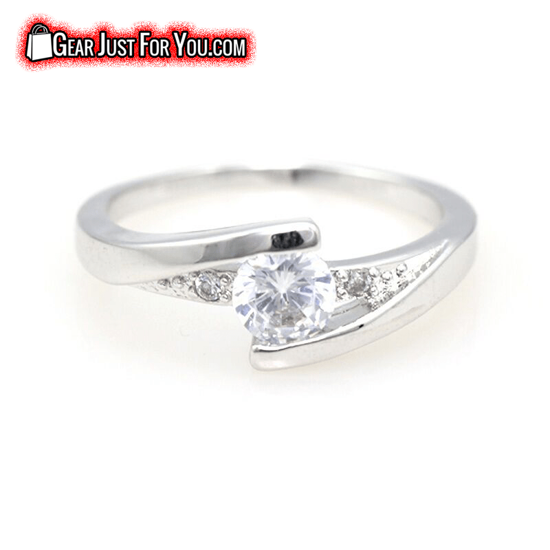 weston c products three eternity platinum diamonds ring engagement diamond row