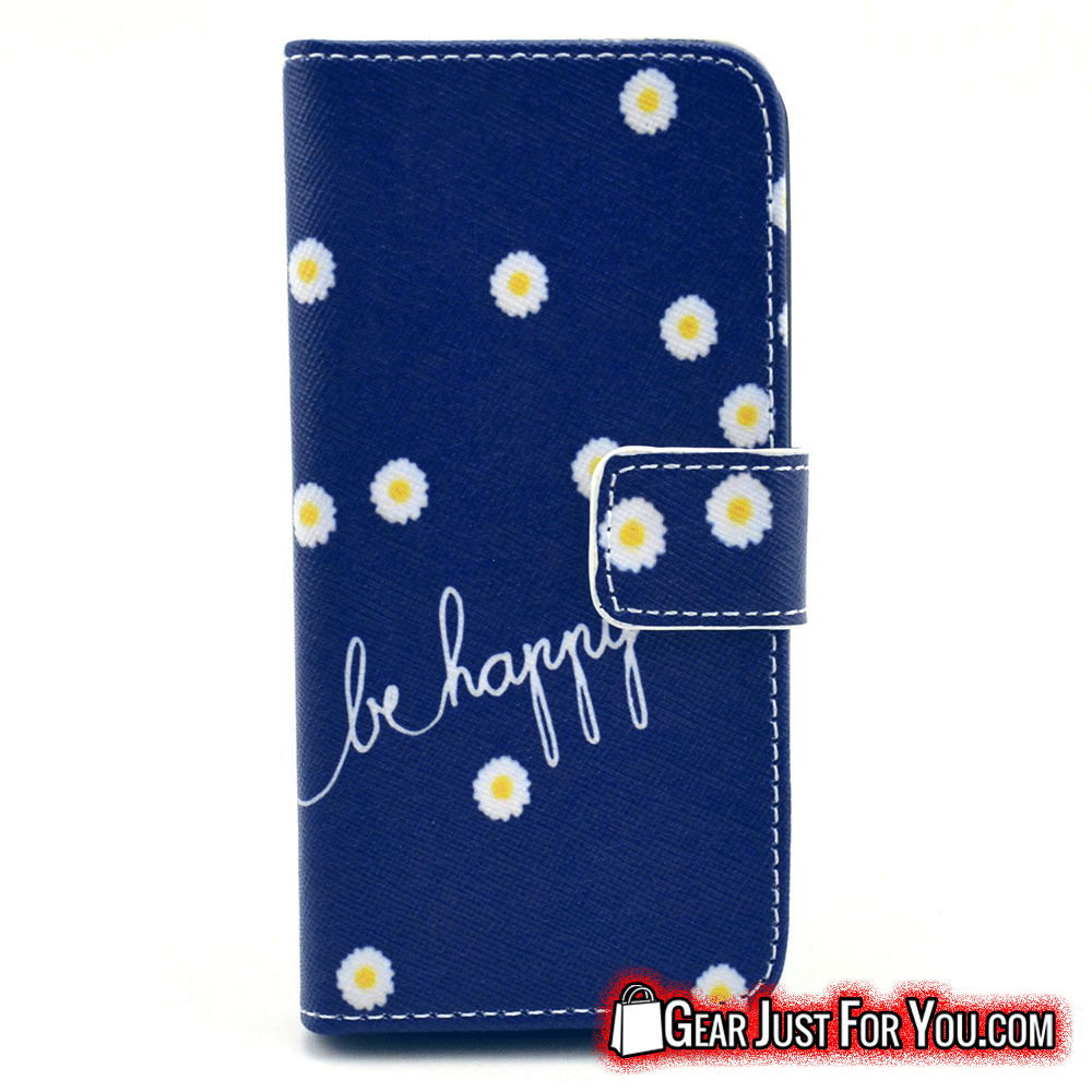 Elegant Leather Wallet Bumper Case for iPhone 7 Series - Gear Just For You.com