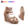 Pretty Bohemian Comfortable Wedge Heels