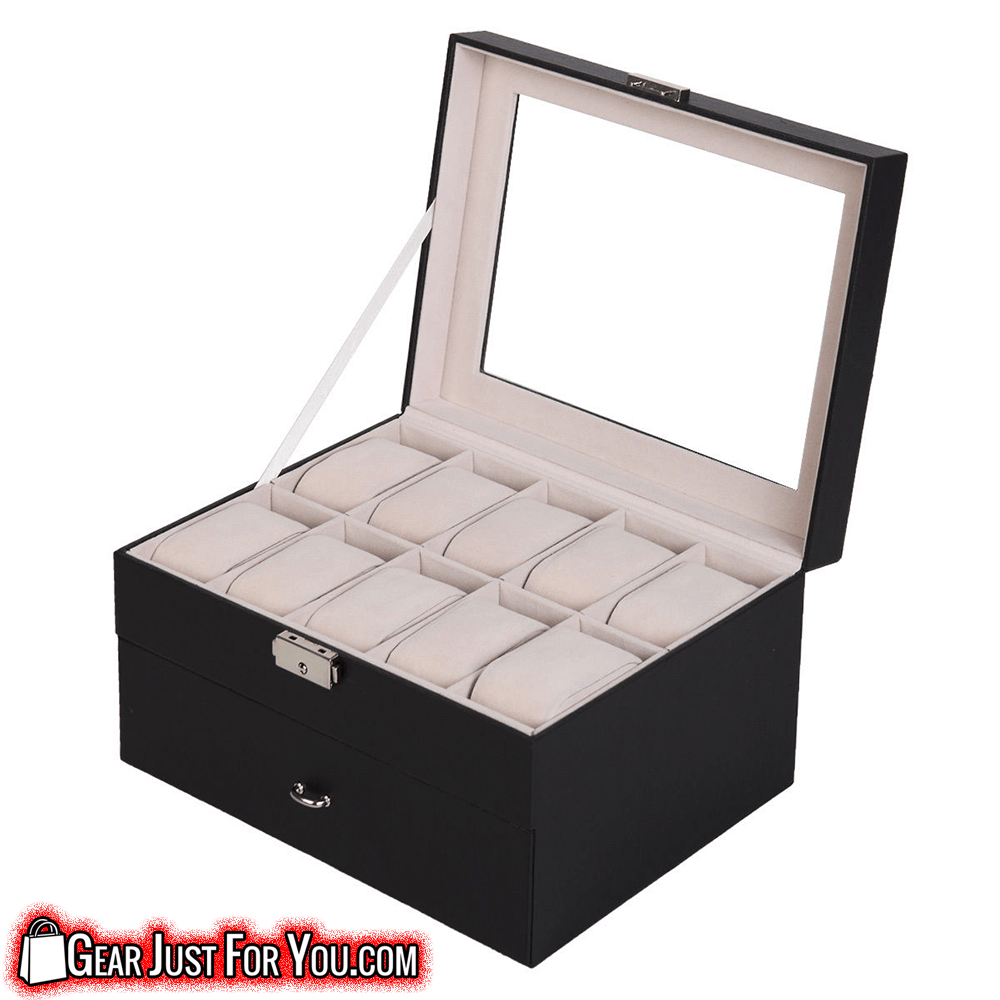 Beautiful Craft Smooth Opening Watch Display Storage Box  sc 1 st  Gear Just For You & Beautiful Craft Smooth Opening Watch Display Storage Box u2013 Gear Just ...