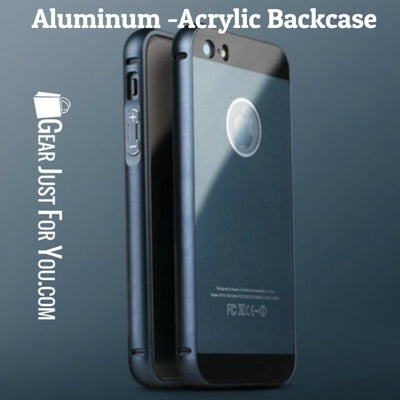Aluminum-Acrylic Back Case - Gear Just For You.com