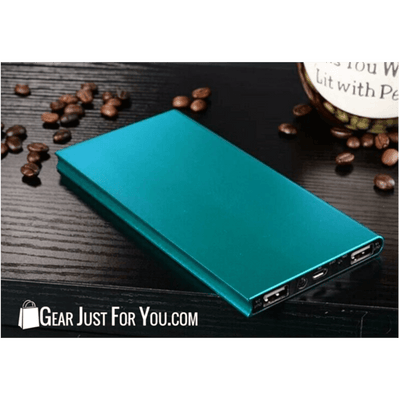 Ultrathin 20000mAh Portable External Battery Charger Power Bank - Gear Just For You.com
