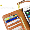 Stylish Wallet Money Credit Card Slots The Perfect Leather Case for Apple iPhone - Gear Just For You.com