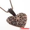 "Sparkling 1"" Heart Shaped Pendant Necklace with 28"" Chain - Gear Just For You.com"