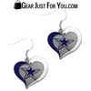 Hot Offer Dallas Swirl Heart Earrings