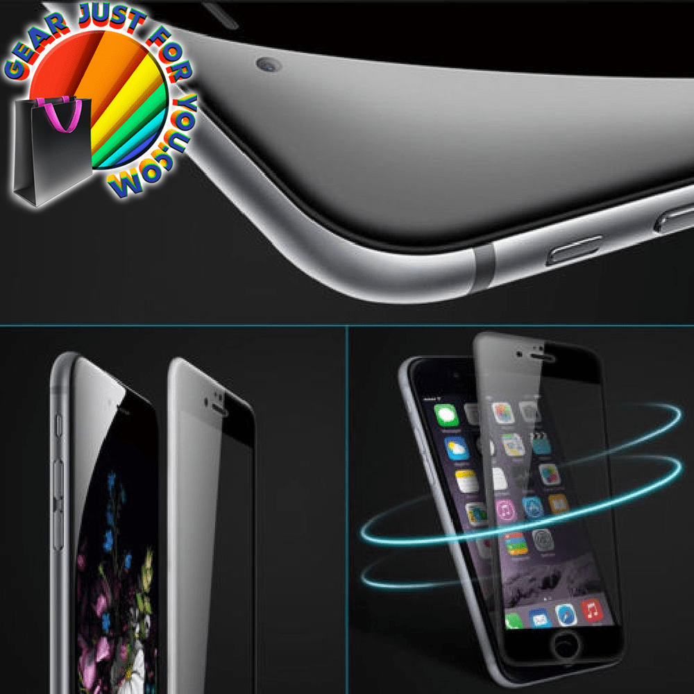 Ultra Thin Soft Fiber Edge Anti-knock 3D Tempered Glass Screen Protector For iPhone - Gear Just For You.com