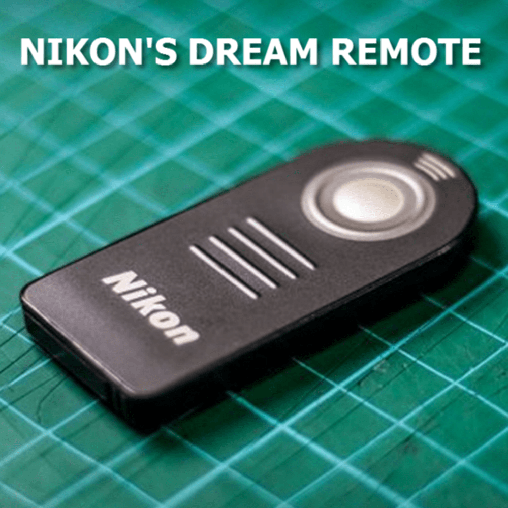 Easy to Use Wireless Remote Control for Nikon D5000 D5100 D7000 D3000 D90 D70S D70 D50 D60 D40 D40X 8400 - Gear Just For You.com