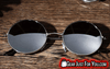 Image of Retro Vintage Round Mirrored Outdoor Sports Sunglasses - Gear Just For You.com