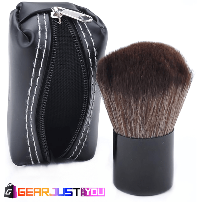 High-Quality Women s Soft Mushroom Blush Professional Makeup Brush + ... 0d3e3e4752