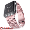 Classic Folding Clasp Set Adjustable Stainless Steel Band Apple Wrist iWatch - Gear Just For You.com