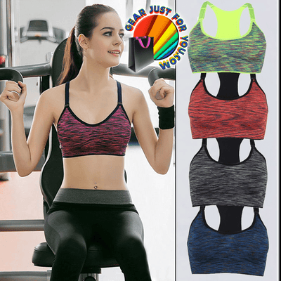 Comfortable Fitness Stretched Seamless Workout Padded Sports Bra