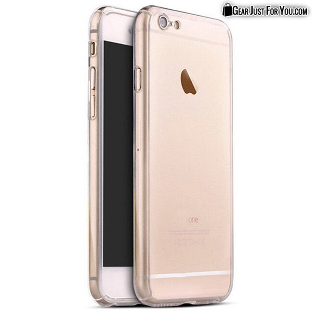 iphone 6 gold front. selling quickly ultra thin shockproof case for iphone 360 degree coverage with tempered glass on front iphone 6 gold