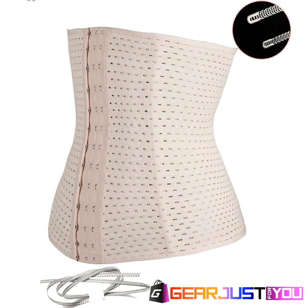 d00a84bf256 Sexy Latex Rubber Waist Trainer Corset Underbust Zippered Body Shaper - Gear  Just For You.