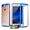 Fashionable 2-in-1 Transparent Armor Protective iPhone Case