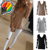 Super Hot Cotton Blend Long Cut Sleeve Loose Casual Summer Blouse - Gear Just For You.com