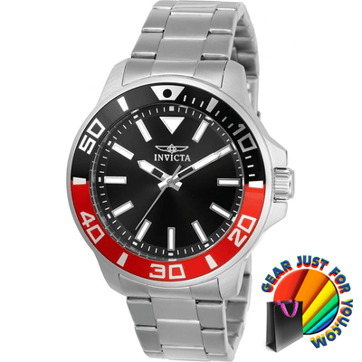 Luxurious Shiny Black Dial Stainless Steel Water Resistant Safety Clasp Men's Wrist Watch - Gear Just For You.com