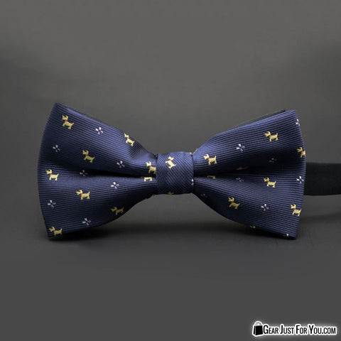 Image of Stylish Satin Men Tuxedo Classic Wedding Bow Tie - Gear Just For You.com
