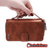 Stunning Design Genuine Leather Multi Functional Zipper Wallet Case Cover For Samsung - Gear Just For You.com