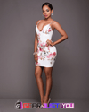 Aristocratic Ladies Sleeveless Floral Party Short Mini Dress - Gear Just For You.com