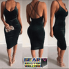 Elegant Backless Evening Cocktail Party Dress