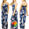 Super Attractive Classic Floral Pattern Summer Comfort Romper Playsuit