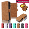 Image of Smart Design Genuine Multifunction Leather Zipper Wallet Card Case Cover For Apple iPhone - Gear Just For You.com