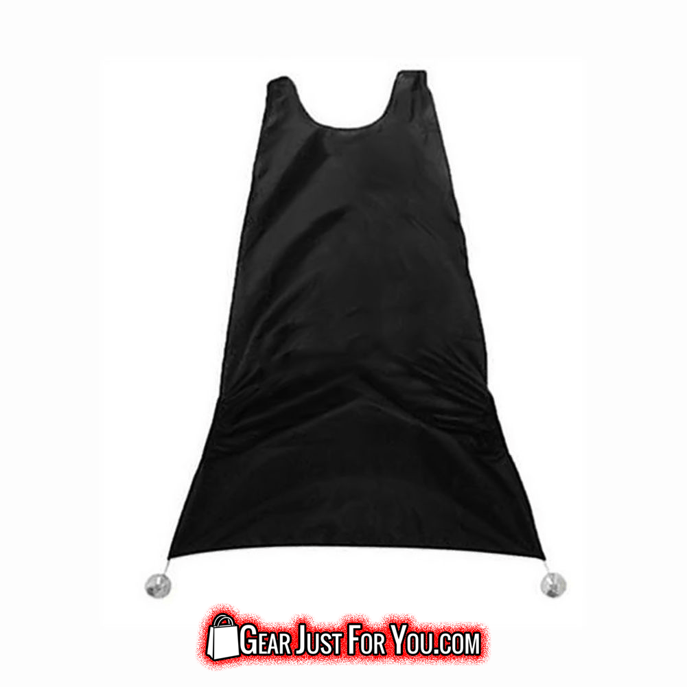 Truly Effective Folding Hair Trimmings Catcher Cape Sink Bathroom Bib Apron Cloth - Gear Just For You.com