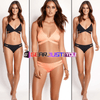 Bandage Criss-cross Low Waist Two Piece Bathing Suit