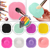High-Quality Effective Women's Pad Washing Mat Scrubber Makeup Brush Cleaner