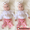 Adorable Infant Newborn Baby Girls Romper Pants Bodysuit - Gear Just For You.com