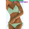 Sexy Push Up Padded Bandage Triangle Women's Bikini Swimsuit Set