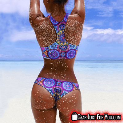 Most Comfortable Bandage Push Up Padded Colorful Bikini Swim Wear - Gear Just For You.com
