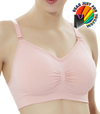 Amazing Comfort Seamless Adjustable Strap Maternity Nursing Padded Bra