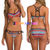 Amazing Printed Push-up Padded Bra Bikini Sets