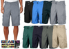 High Quality Pure Cotton Twill Cargo Shorts with D-Ring Belt