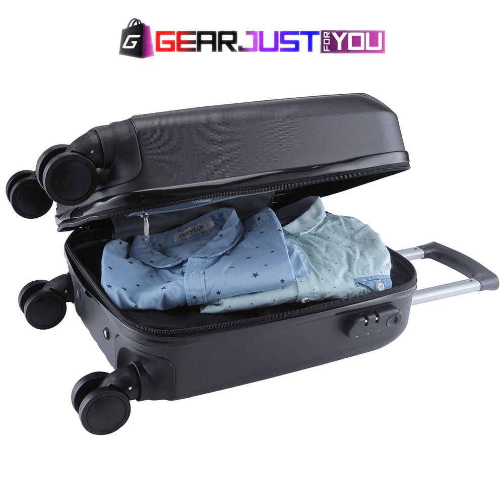 Luxurious 4 Piece Lightweight Travel Luggage - Gear Just For You