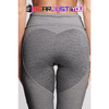 Athletic Fitness Heart Pattern Mesh Gym Pant
