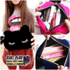 Cute Handy Zipper Closure Cosmetic Makeup Holder Case